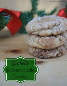 Diabetic Snickerdoodle Cookies