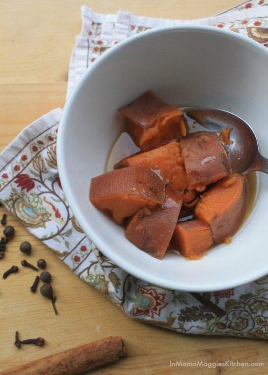 Honey Sweet Potatoes | In Mama Maggie's Kitchen