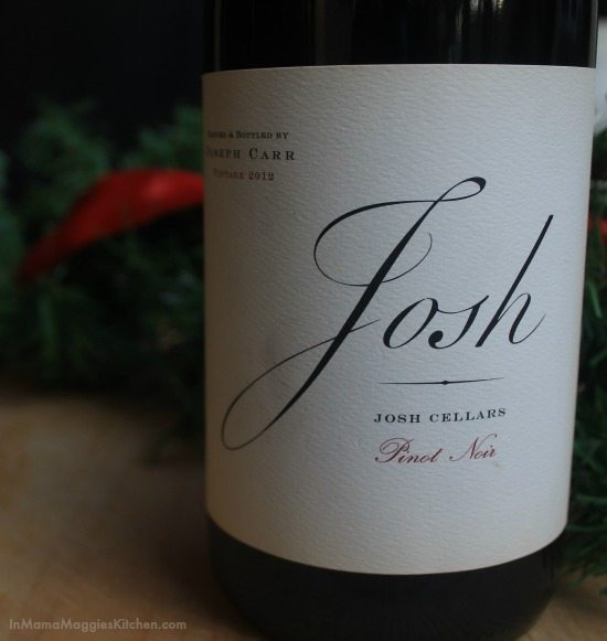 Josh Cellars Pinot Noir | In Mama Maggie's Kitchen