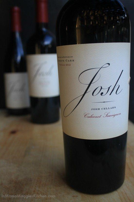 Josh Cellars Wine   In Mama Maggie's Kitchen