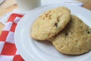 Oatmeal Chocolate Chip Peanut Butter Cookies | In Mama Maggie's Kitchen