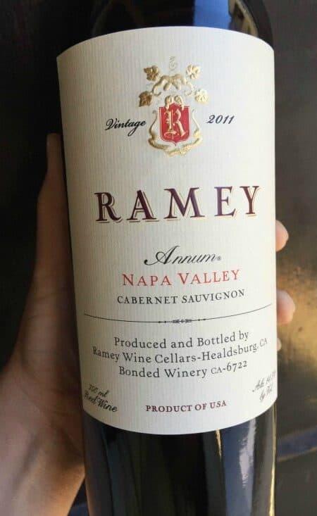 Ramey Annum Napa Valley 2011