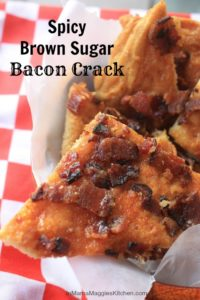 Spicy Brown Sugar Bacon Crack | In Mama Maggie's Kitchen