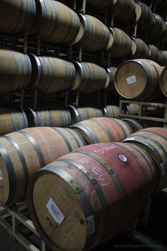 Wine Barrels at Ramey