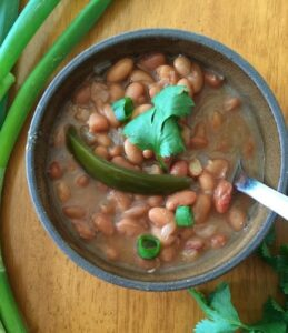 Not So Spicy Beans for Lent