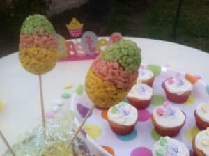 Postres for Pascua (Easter Dessert Recipes) -Pastel Colored Easter Eggs