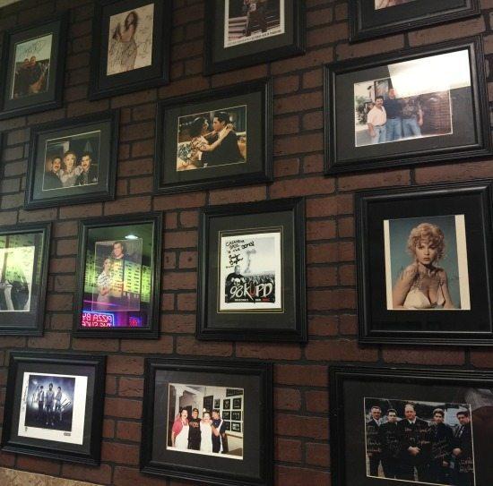 Wall of Fame at Casanova Brothers