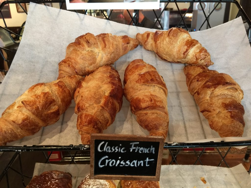 Croissants at All Chocolate Kitchen