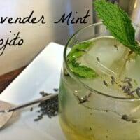 Lavender Mint Mojito | In Mama Maggie's Kitchen