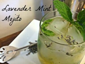 Tax Relief Cocktail – Lavender Mint Mojito