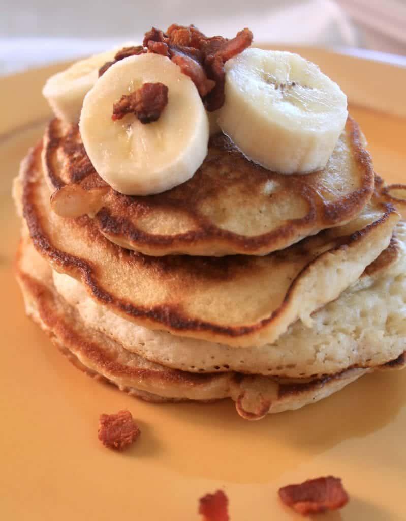 Banana Bacon Pancakes