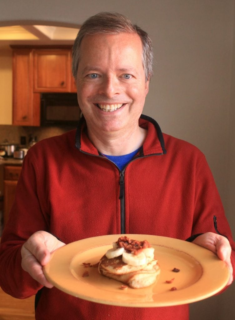 Dr. Christopher Vogelmann and Mother's Day Pancakes
