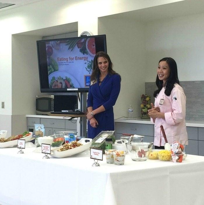 Chef Brigitte and Tara Gidus