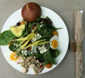 Corn Cobb Salad