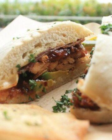 Pig & Chicken BBQ Sandwich