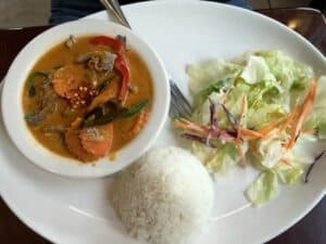Yellow Curry Daily Lunch Special