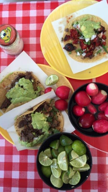 Tacos el Gordo in Tijuana, Mexico