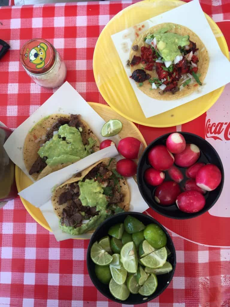 Tacos el Gordo in Tijuana, Mexico