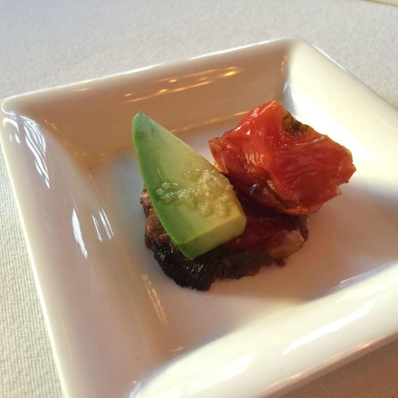 Roasted Tomato, Avocado, Rib Eye Steak