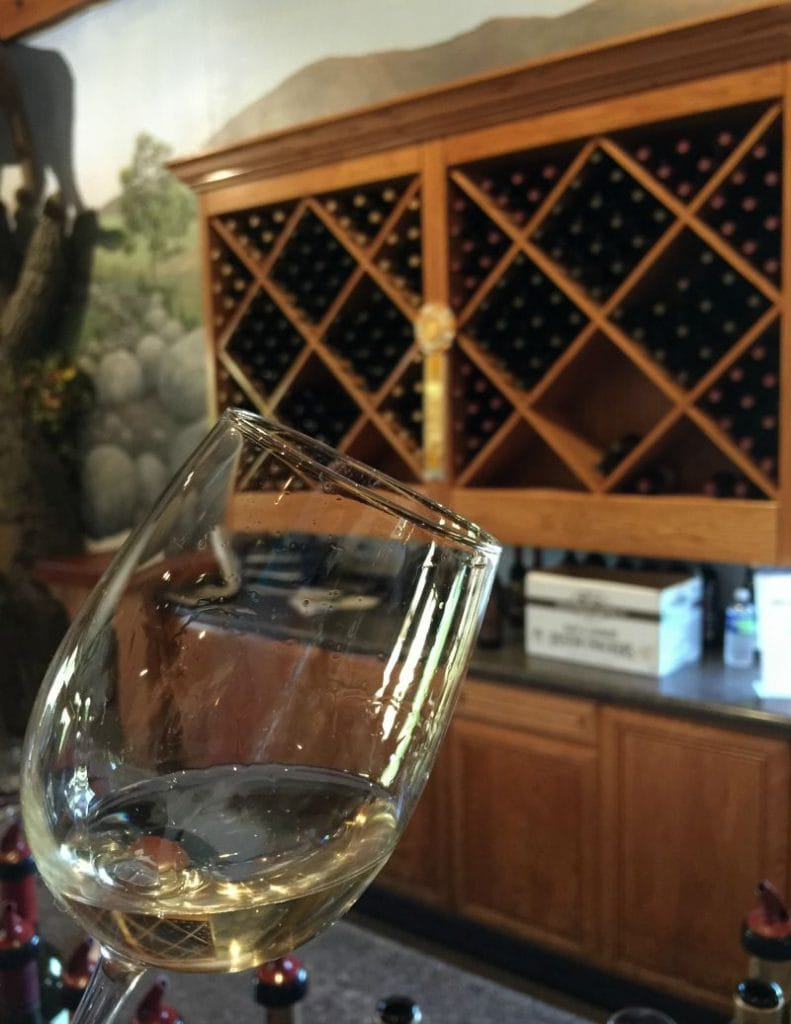 Sampling Wine at South Coast Winery in Temecula