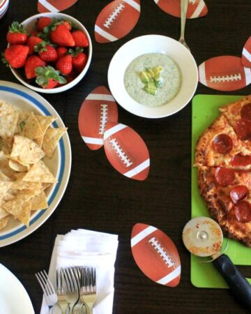 Football Tailgate with Red Baron Pizza