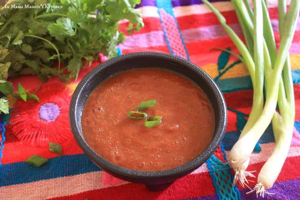 Mexican Red Salsa | In Mama Maggie's Kitchen