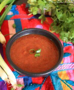 Mexican Salsa Roja | In Mama Maggie's Kitchen