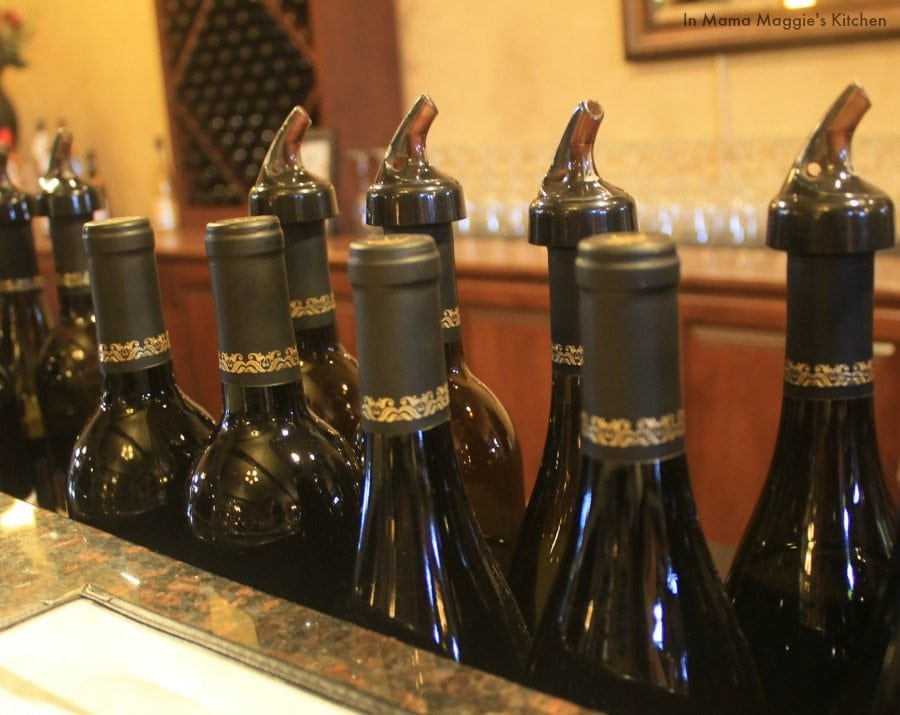 Wine Bottles at Danza del Sol Winery | In Mama Maggie's Kitchen