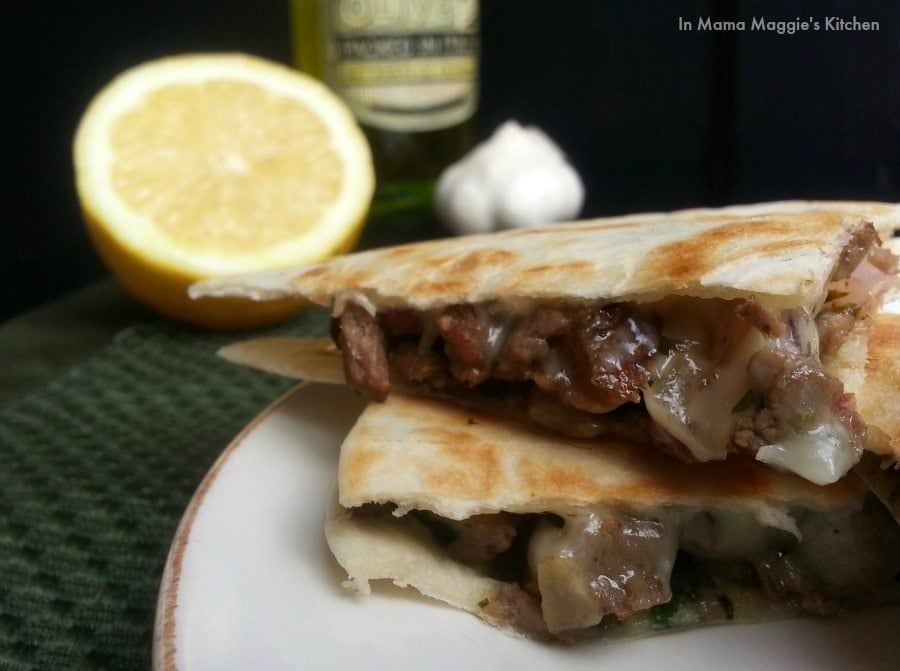 Chimichurri Steak Quesadillas | In Mama Maggie's Kitchen