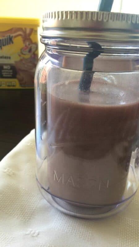 Nesquik chocolate milk | In Mama Maggie's Kitchen