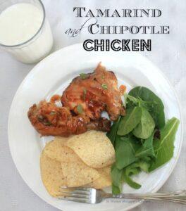 Tamarind and Chipotle Chicken | In Mama Maggie's Kitchen