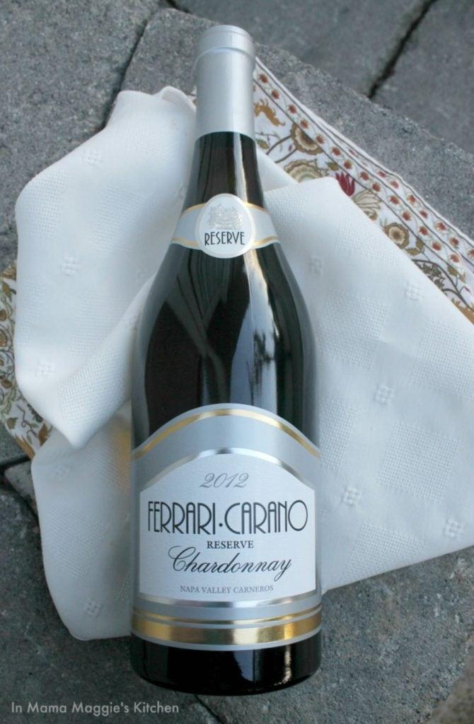 Ferrari Carano Chardonnay 2012 | In Mama Maggie's Kitchen