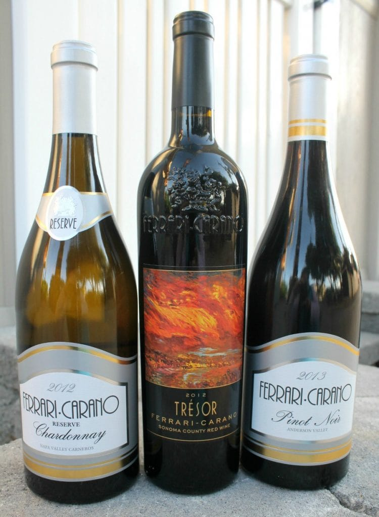 A Trio of Vinos by Ferrari-Carano