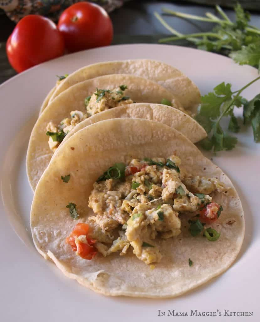 Huevos Rancheros Tacos | In Mama Maggie's Kitchen