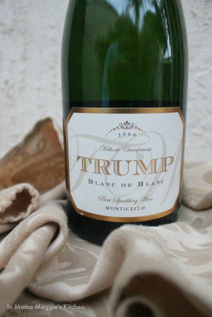 Trump Winery Blanc De Blanc 2009 | In Mama Maggie's Kitchen
