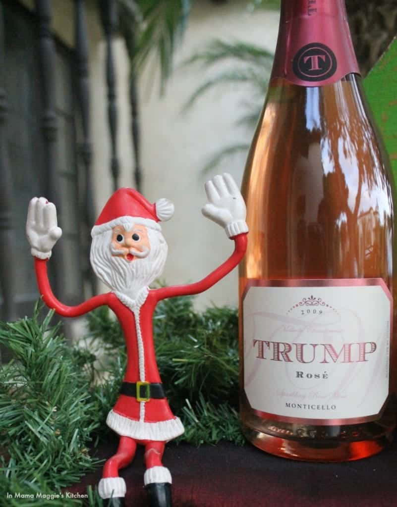 Trump 2009 Sparkling Rosé | In Mama Maggie's Kitchen