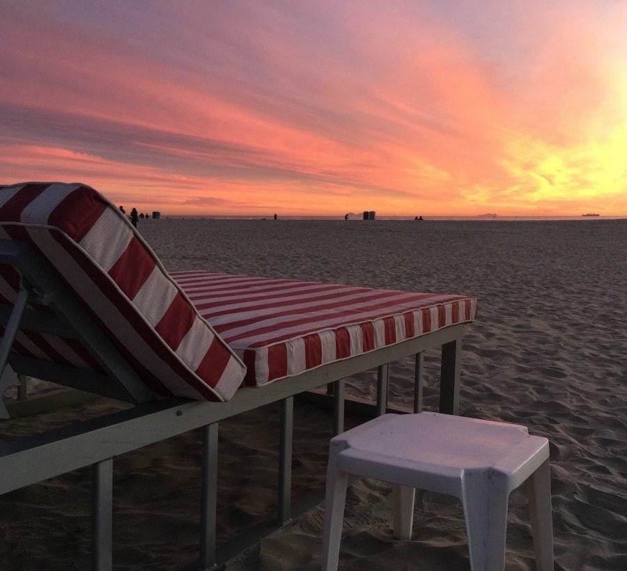 Del Beach Sunset | In Mama Maggie's Kitchen