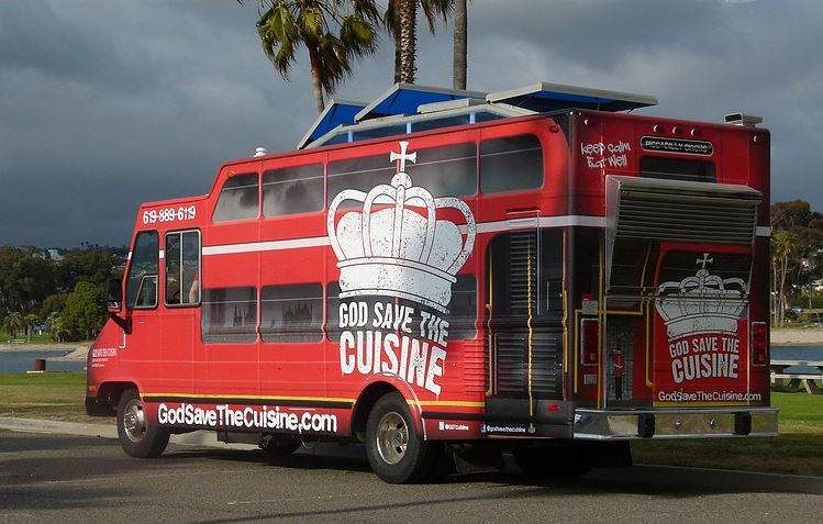 God Save the Cuisine food truck