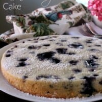 Lemon Blueberry Cake | In Mama Maggie's Kitchen