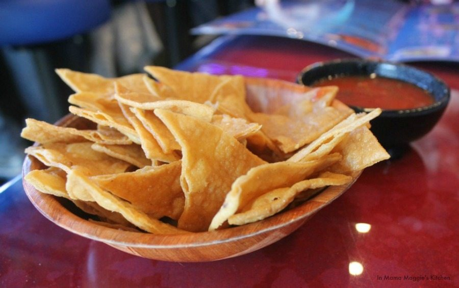 Tortilla Chips and Salsa - In Mama Maggie's Kitchen