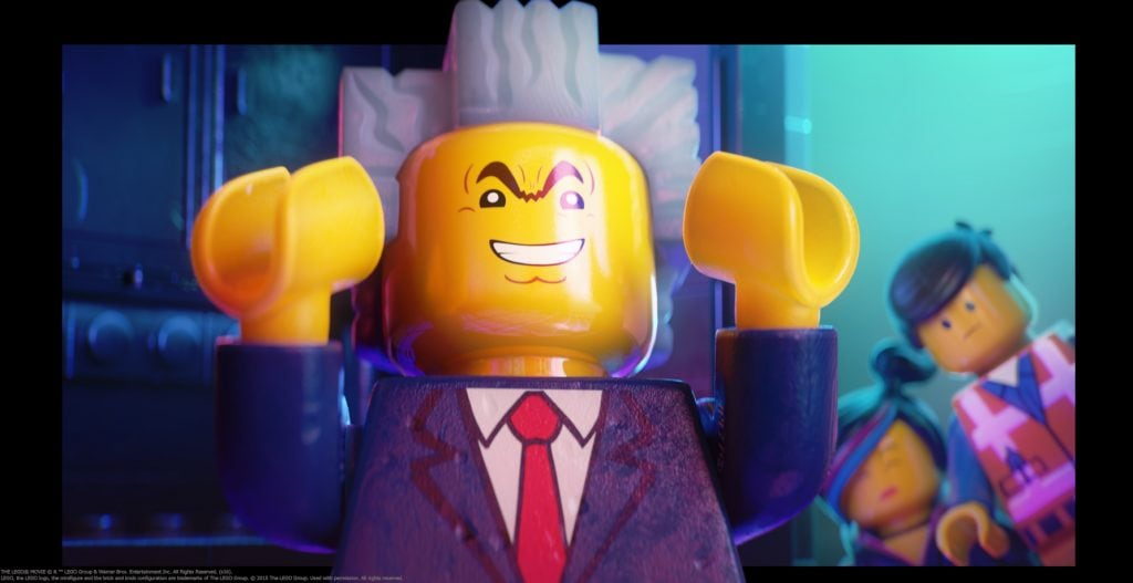 Lego Movie 4D