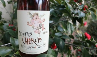 Montes Cherub Rose of Syrah 2015 - floral and medium-bodied, fresh, crisp - Mama Maggie's Kitchen