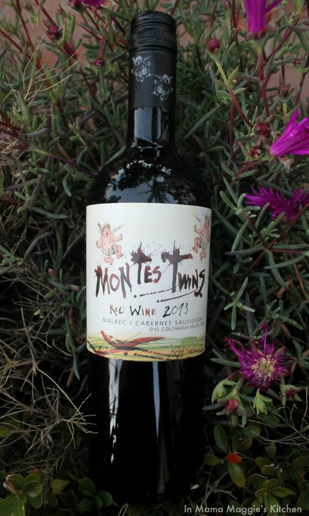 Montes Twins Red Wine 2013 - fruity and ful of berries and spices - by Mama Maggie's Kitchen