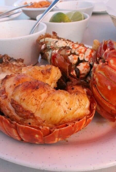 Puerto Nuevo Style Lobster - Mama Maggie's Kitchen