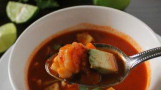 Caldo de Camarón - Mexican Shrimp Soup