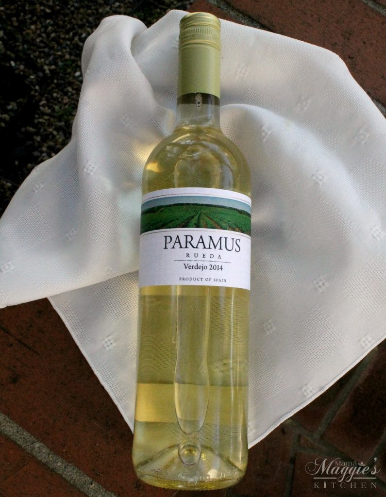 Paramus Rueda Verdejo 2014 - a fresh and floral wine from Spain - Mama Maggie Kitchen