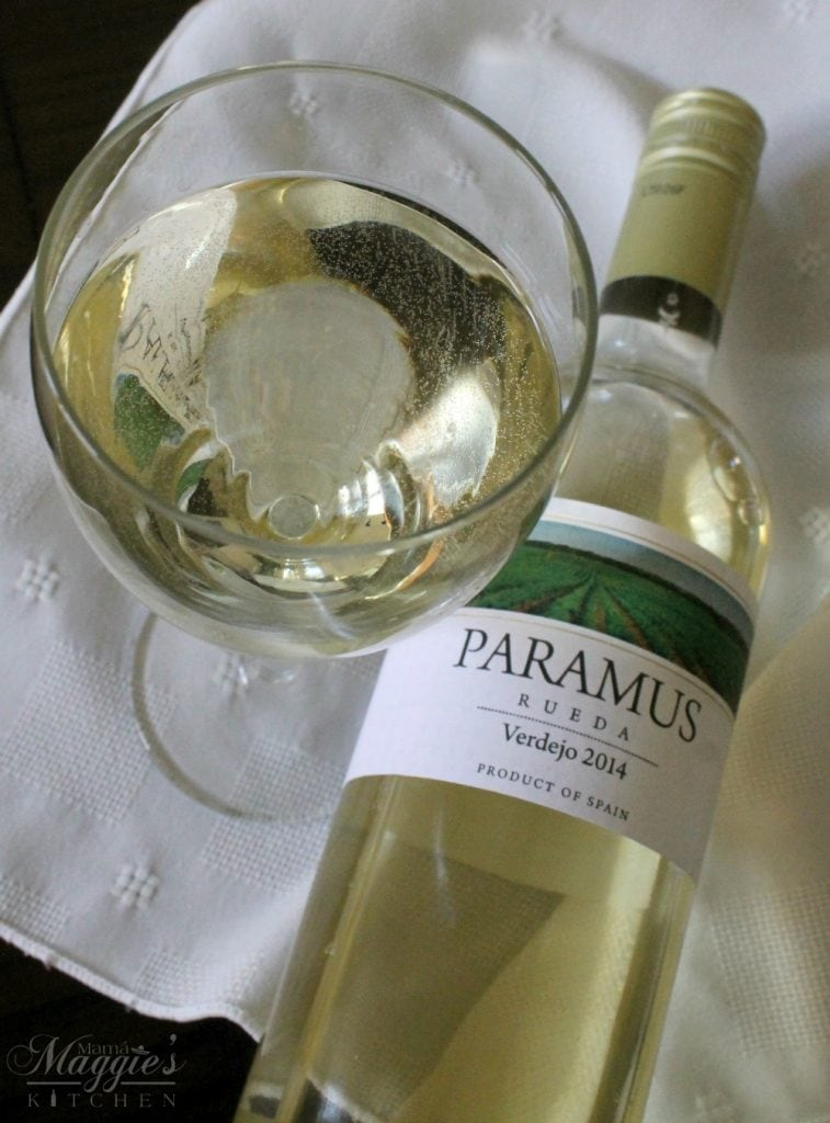 Paramus Verdejo 2014 - a fresh and floral wine from Spain - Mama Maggie's Kitchen