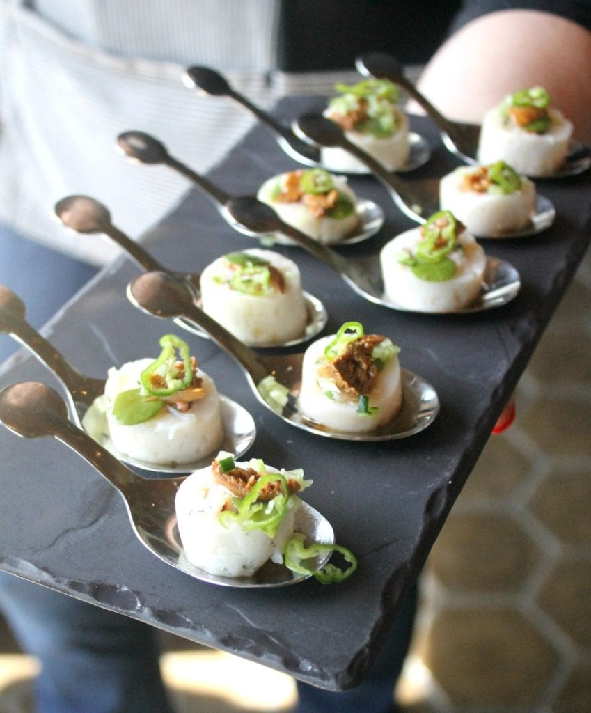 Scallops and Lobster Amuse Bouche  - see more on Mama Maggie's Kitchen
