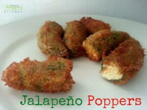 Homemade Spicy Jalapeño Poppers