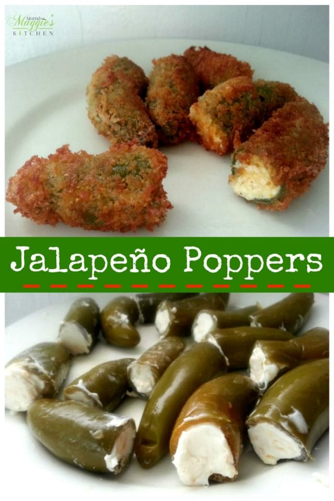 Jalapeno Poppers - a spicy appetizer worth every calorie - Mama Maggie's Kitchen